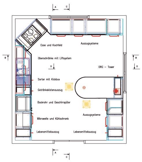 Barrierefreie K Che ungewöhnlich barrierefreie küche galerie das beste architekturbild huepie com